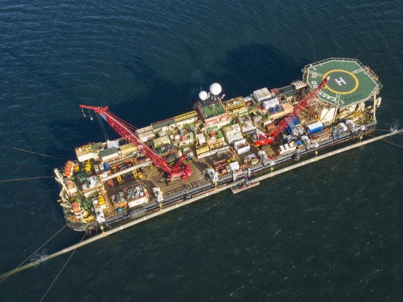Concluye construcción del gasoducto Nord Stream 2, duplicará suministros europeos