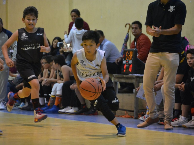 Concluye etapa regional de básquetbol liga Telmex-Telcel 2018