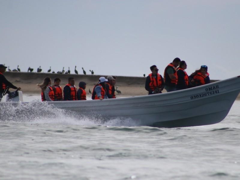 Concluye tercera temporada de avistamiento de ballenas en Puerto Chale