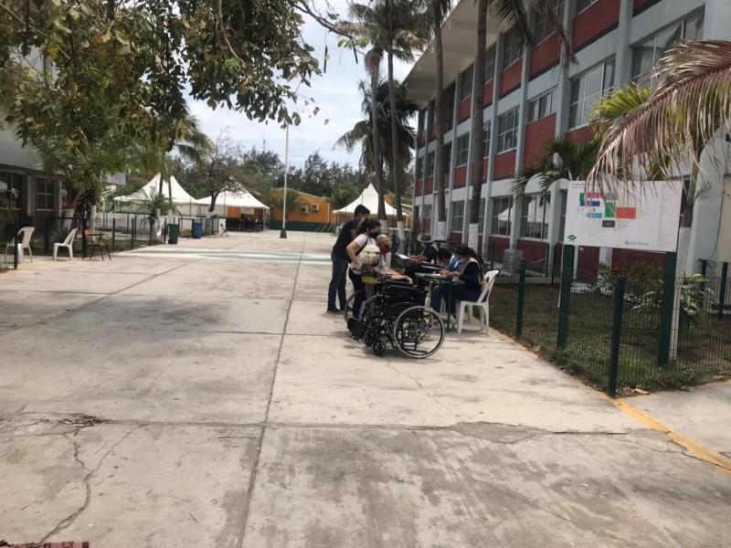 Concluye vacunación de adultos mayores en módulos de Veracruz