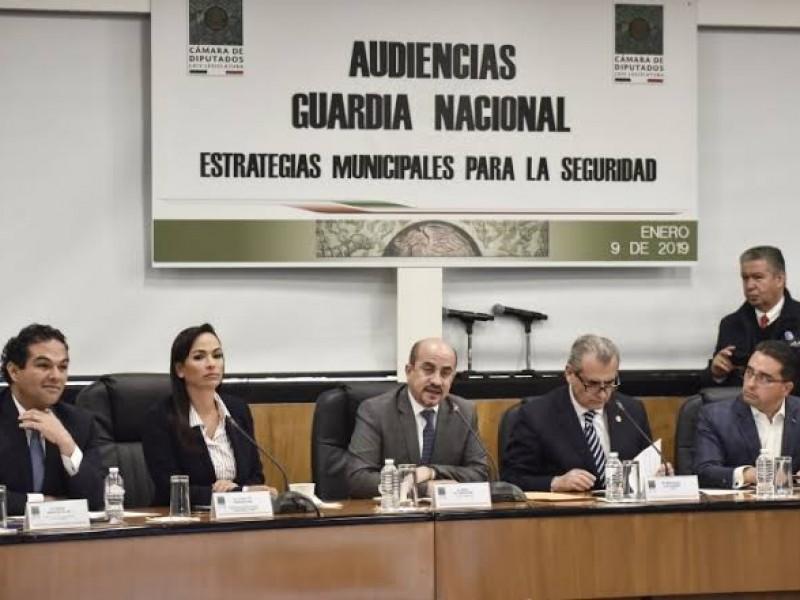Concluyen audiencias públicas sobre Guardia Nacional