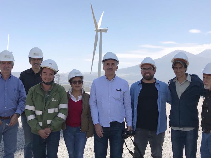 Concluyó proyecto científico para parques eólicos