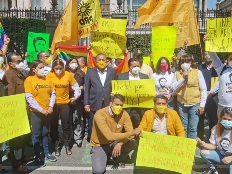 Condena PRD detención de Goyo Gómez en Tihuatlán