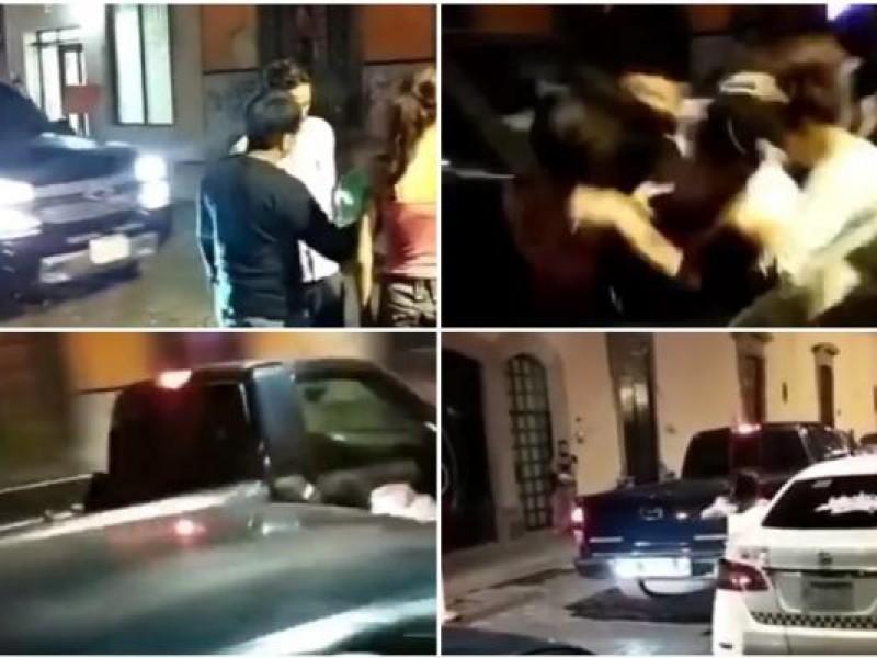 Conductor atropella a jóvenes en San Luis Potosí