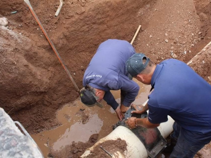 Conectan pozos particulares a red de agua en la ciudad