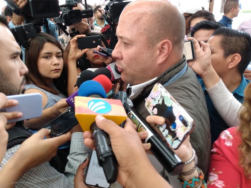Confía Alfaro en cerrar acuerdo para Policia Metropolitana