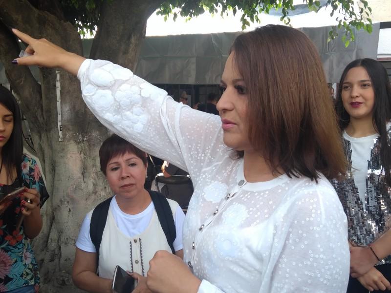 Confía Claudia Delgadillo en apoyo de tapatíos.