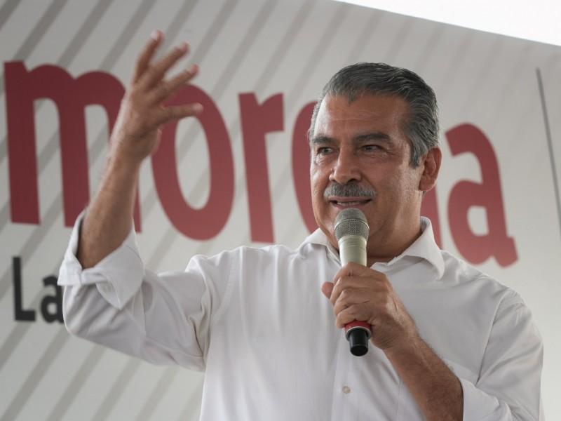 Confía Raúl Morón que TEPJF regresará este martes candidatura
