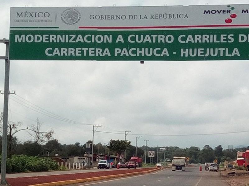 Confirma AMLO ampliación de carretera Pachuca-Huejutla