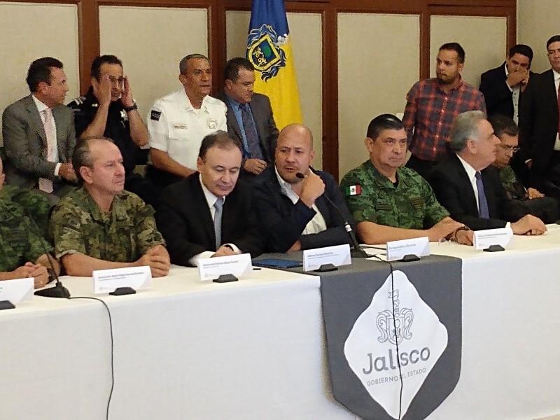 Confirma Durazo 3,600 elementos de GN para Jalisco