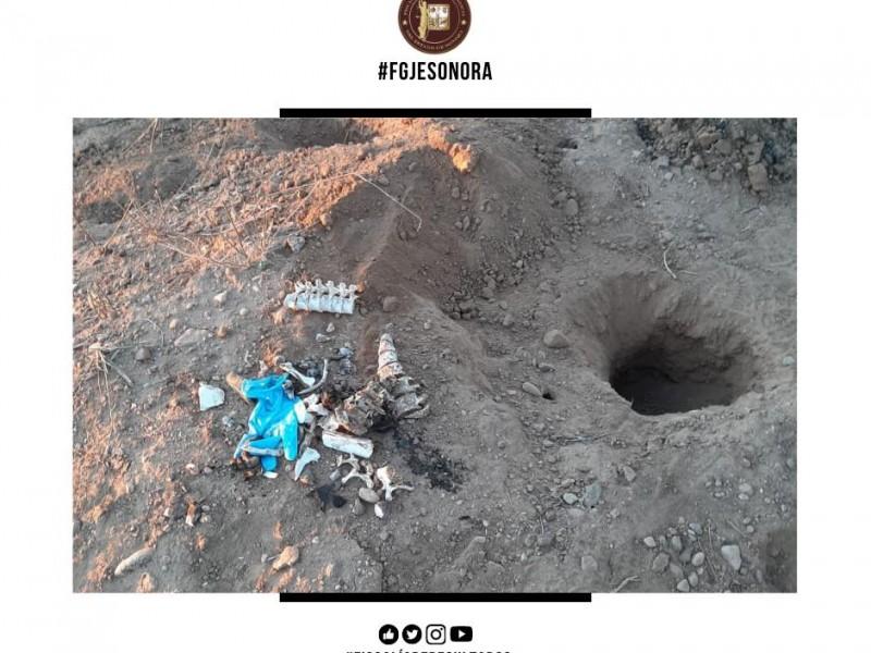 Confirma Fiscalía restos óseos, no 17 fosas en el Valle
