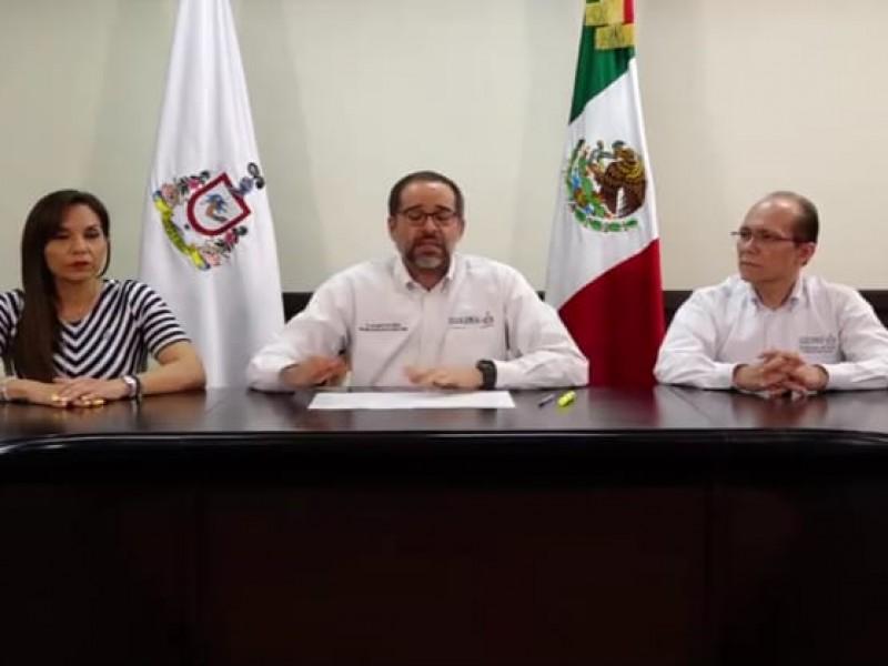Confirma gobernador primer caso de coronavirus en Colima
