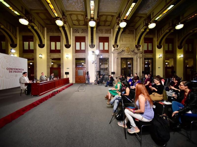 Confirma López-Gatell caso de covid-19 en Palacio Nacional