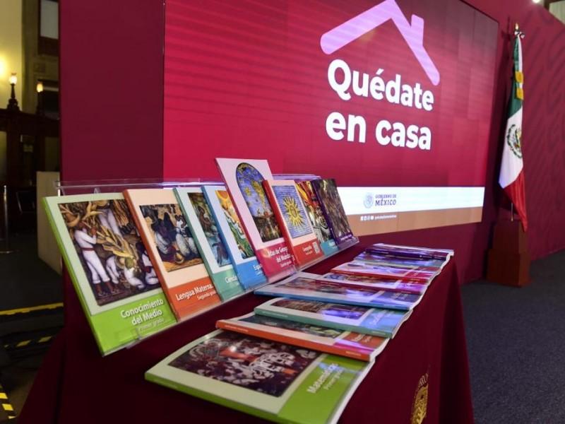Confirma SEP entrega de libros a tiempo