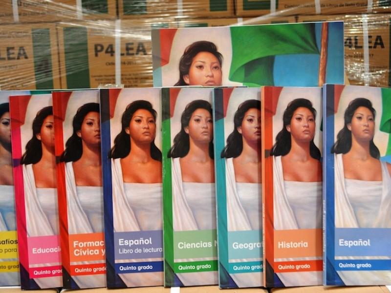 Confirma SEP entrega de libros sin Covid-19