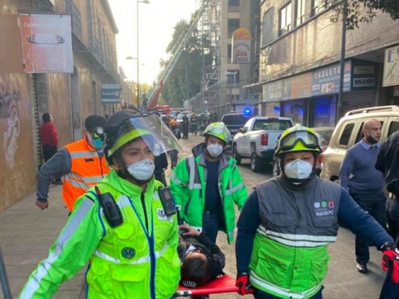 Reportan totalmente controlado incendio en subestación eléctrica del Metro