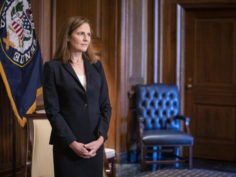 Confirman a Amy Coney Barrett como jueza de Corte Suprema