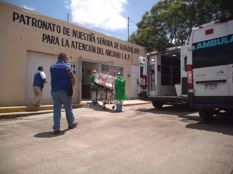 Confirman casos de Covid19 en asilo; lo ponen en cuarentena
