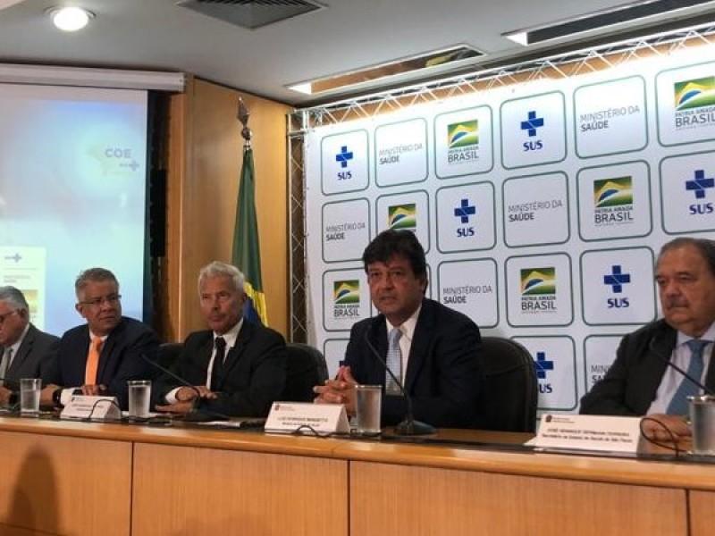 Confirman coronavirus en Brasil, primero en América Latina