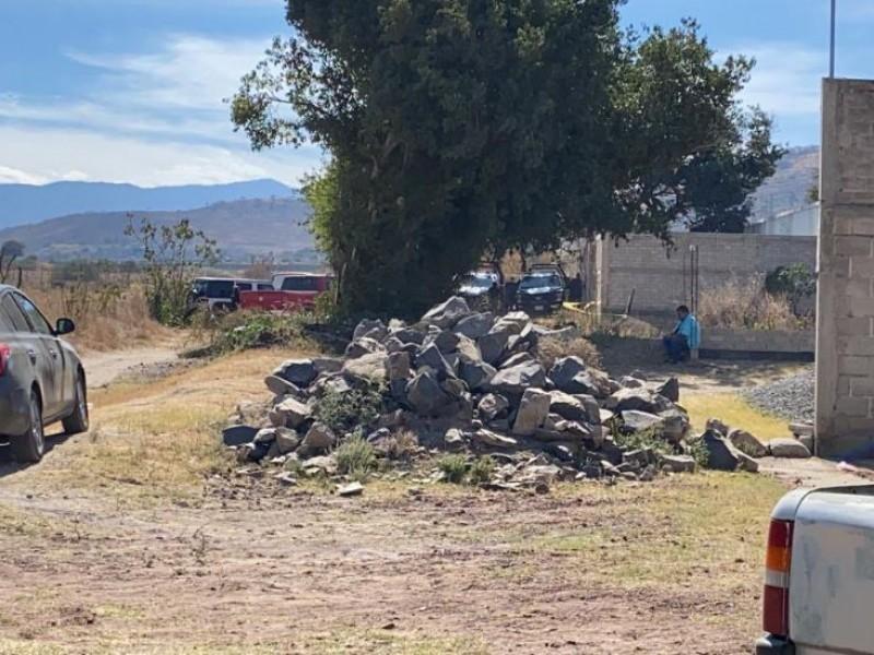 Encuentran más de 8 bolsas con restos humanos en Tlajomulco