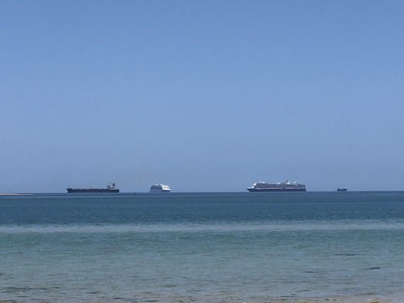 Confirman presencia de sustancias contaminantes en el aire por cruceros