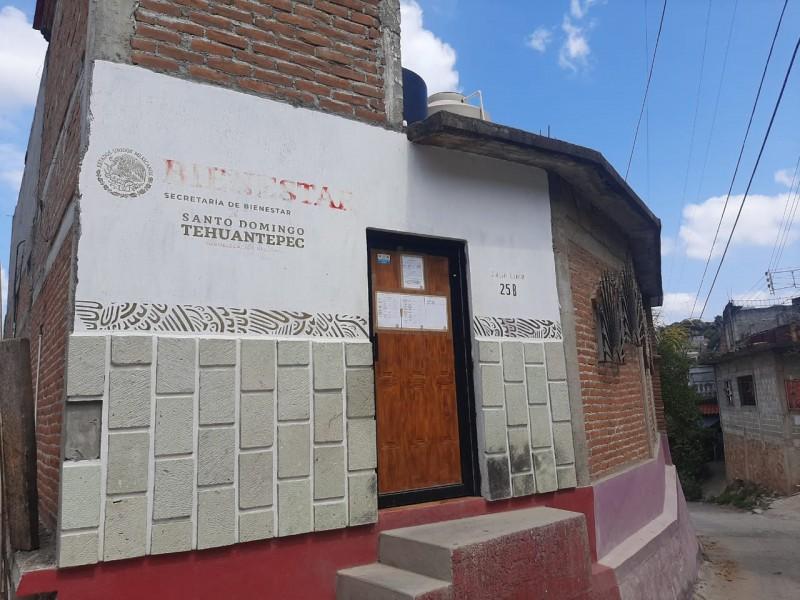 Confirman reapertura de oficinas Bienestar en Tehuantepec luego de aislamiento