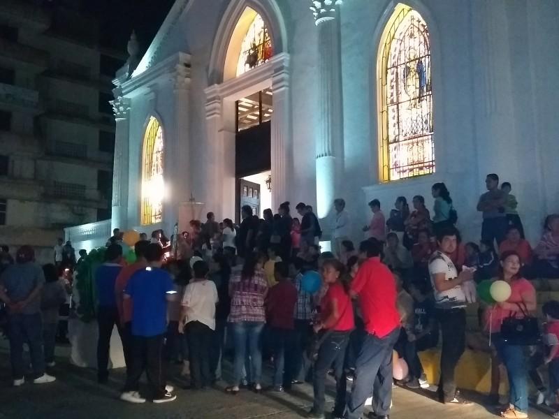 Confirman suspensión de peregrinaciones guadalupanas en Tuxpan