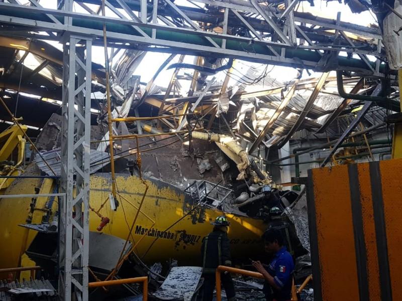 Confirman un fallecido por explosión en fábrica