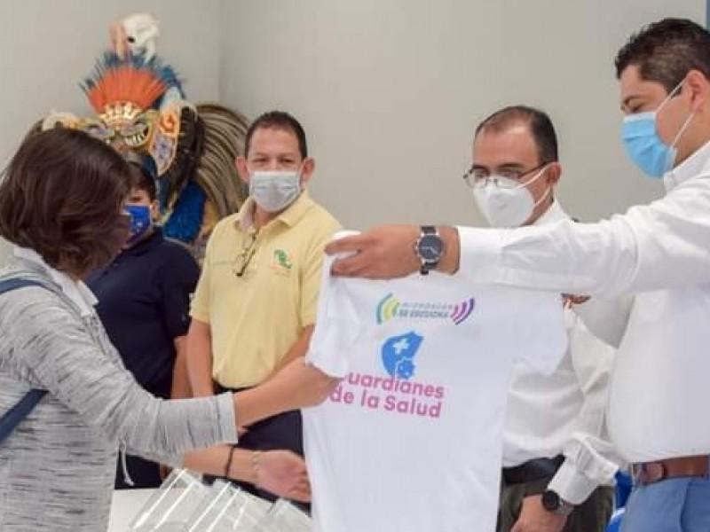 Conforman brigadas de salud para revisar comercios en Tangancícuaro