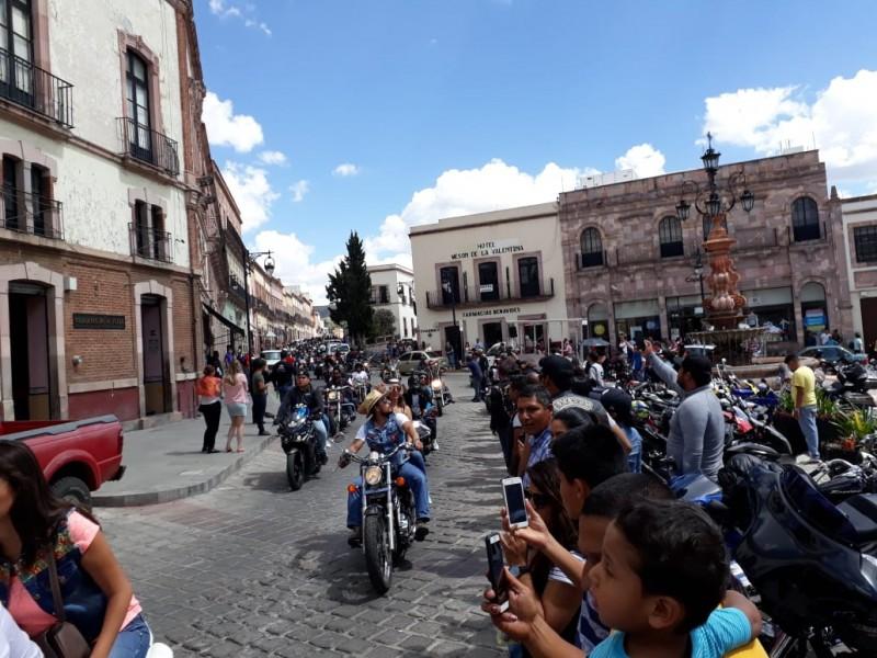 Congrega Zacatecas a cerca de 8 mil motociclistas