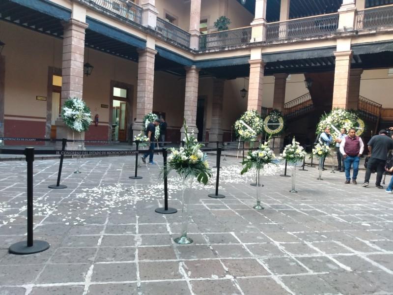 Congreso alista ceremonia luctuosa para diputado Erik Juárez