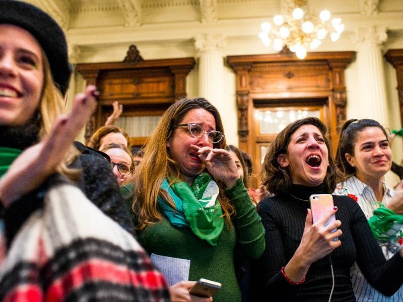 Congreso argentino aprueba despenalización del aborto