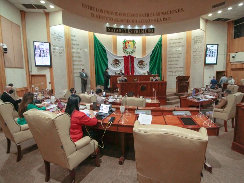 Congreso del estado aprueba ley de ingresos de 12 municipios