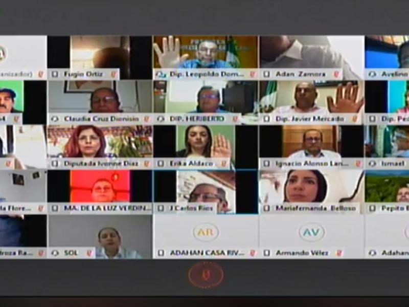 Congreso terminará periodo de sesiones de forma virtual
