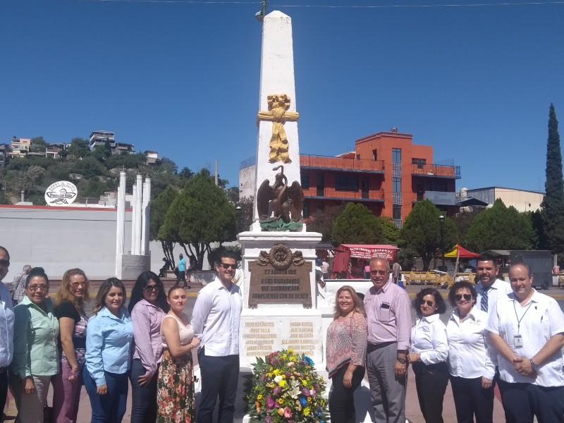 Conmemoran 101 aniversario de Gesta Heroica