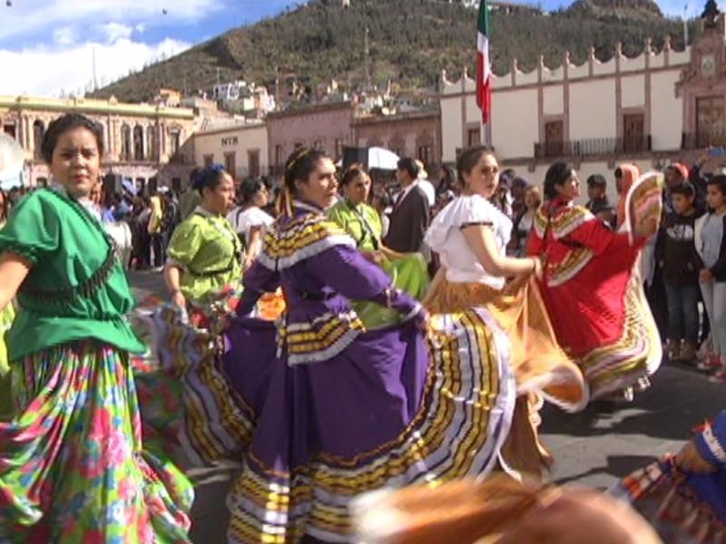 Conmemoran 108 años de la Revolución Mexicana