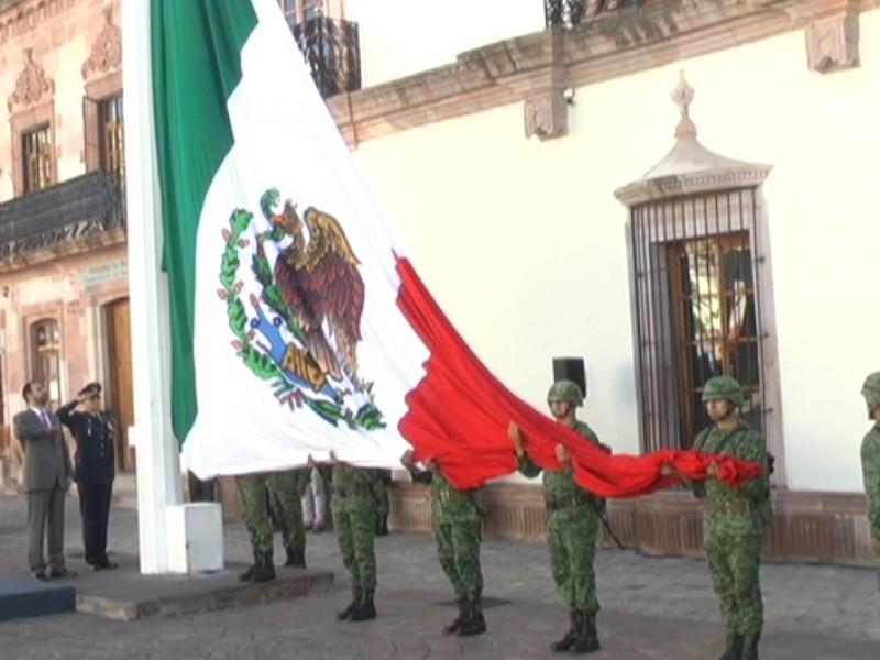 Conmemoran 109 aniversario de la Revolución