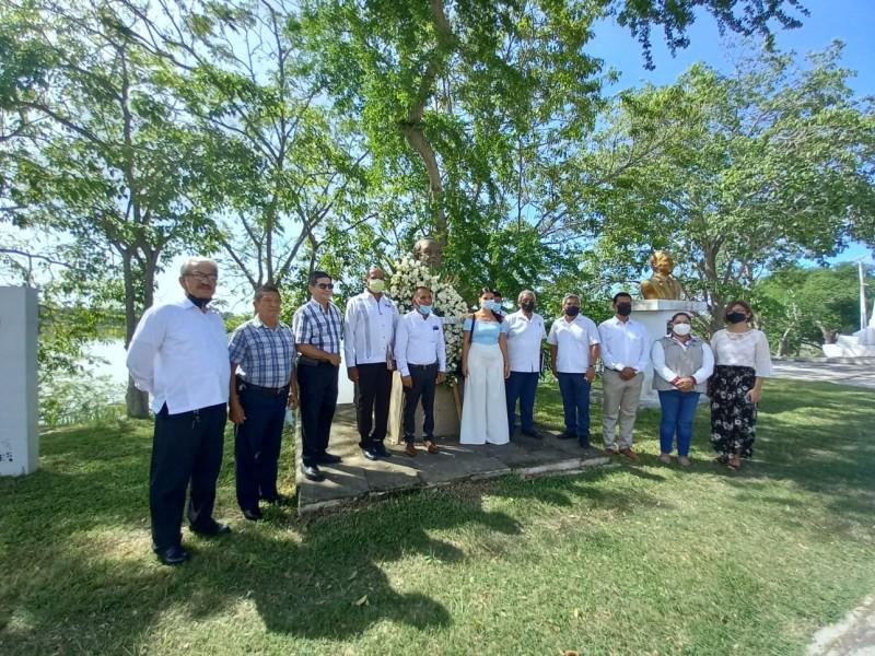 Conmemoran a Pericles Namorado Urrutia en Tuxpan