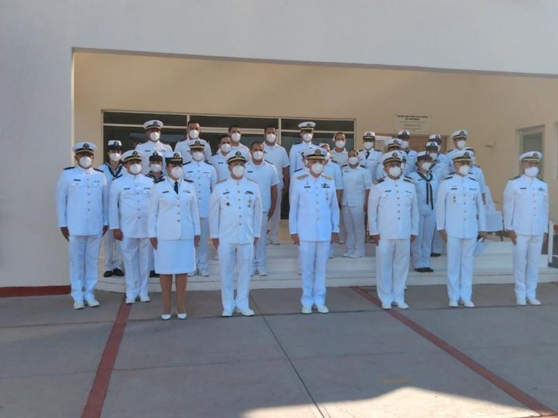 Conmemoran a personal de salud en Día de la Armada