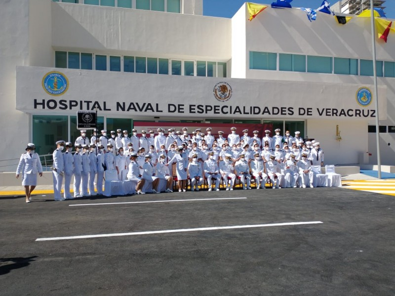 Conmemoran día de la Armada de México en Veracruz
