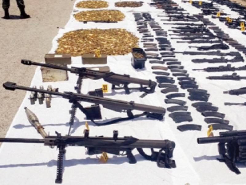 Chiapas sin continuidad a programa de comercio ilícito de armas