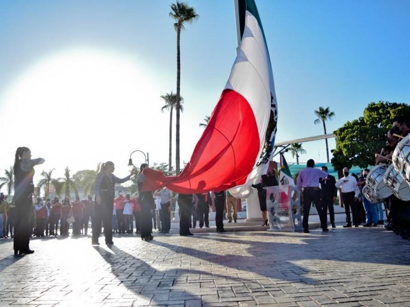 Conmemoran el 110 Aniversario de la Revolución Mexicana en Navojoa
