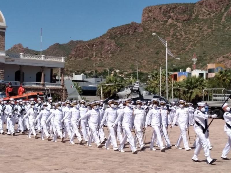 Conmemoran en Guaymas el Bicentenario de la Armada de México