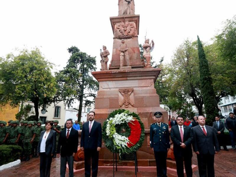 Conmemoran en Zacatecas gesta heroica de Niños Héroes