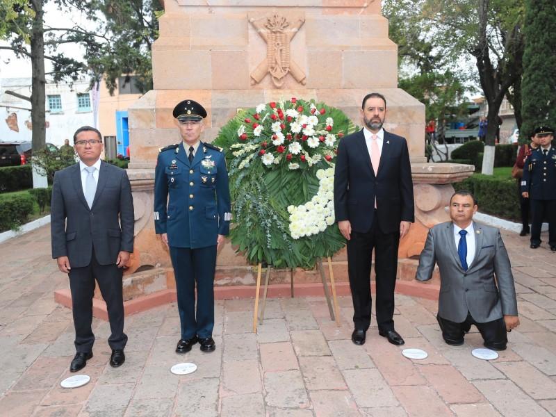 Conmemoran gesta histórica de Niños Héroes
