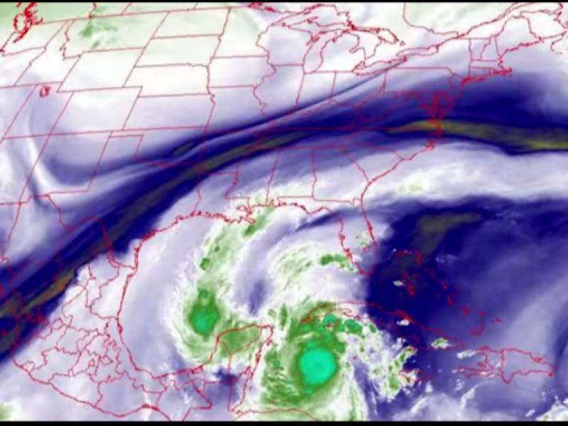Conozca como afectará el huracán Delta al Estado de México