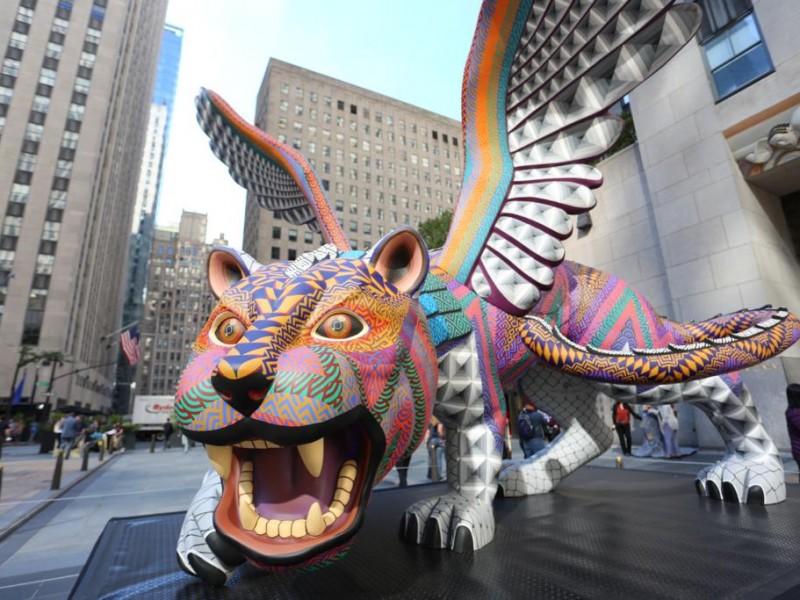 Conquista Oaxaca con sus Alebrijes en Nueva York