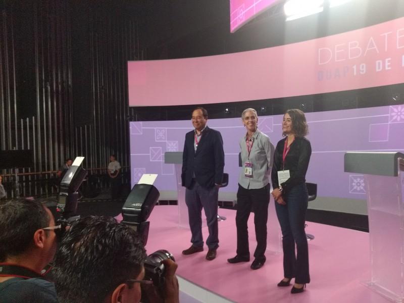 Consejeros del INE presentaron el foro del #DebatePuebla2019