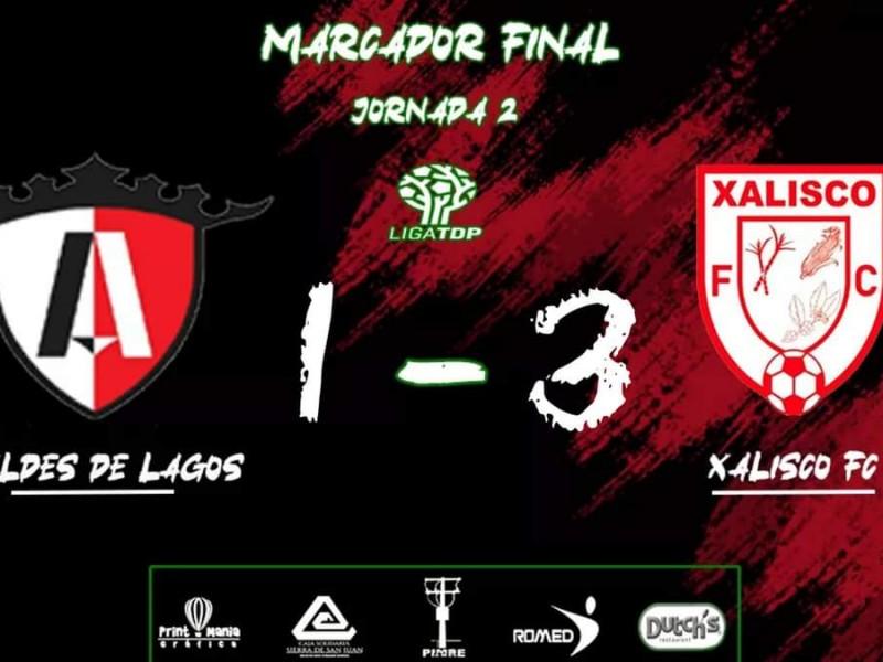 Consigue Xalisco FC su primer victoria del torneo