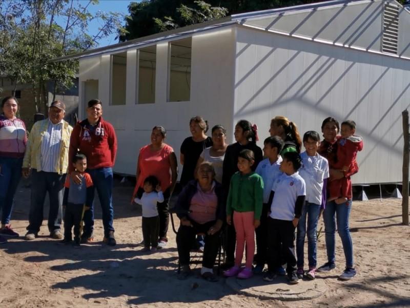 Construcción de escuela, una oportunidad para superarnos